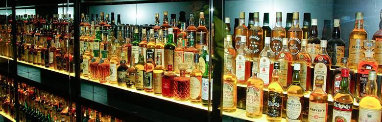 Sortiment bei Whiskyworld