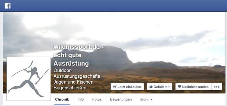 Wildnissport bei Facebook