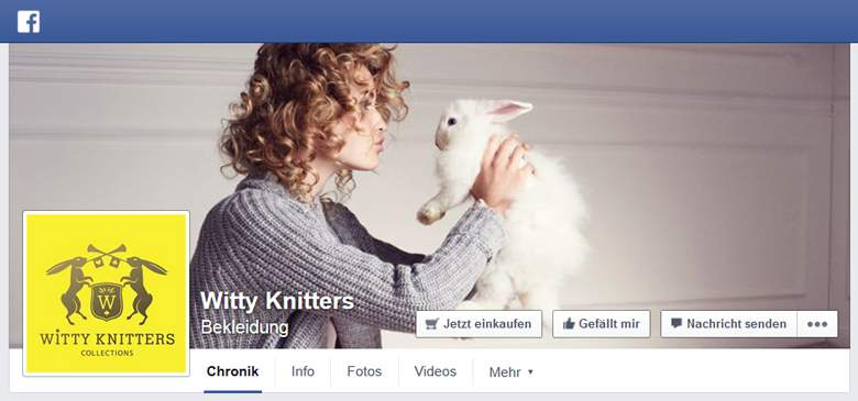 Witty Knitters bei Facebook