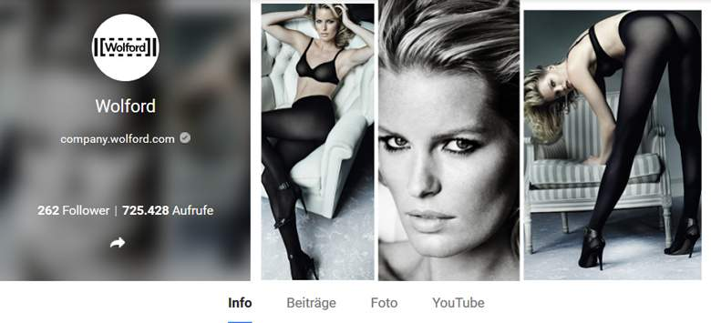 Wolford bei Google+