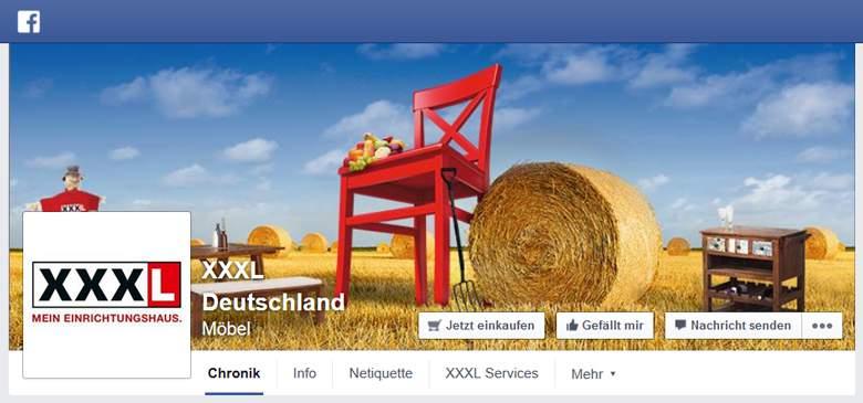 XXXL bei Facebook