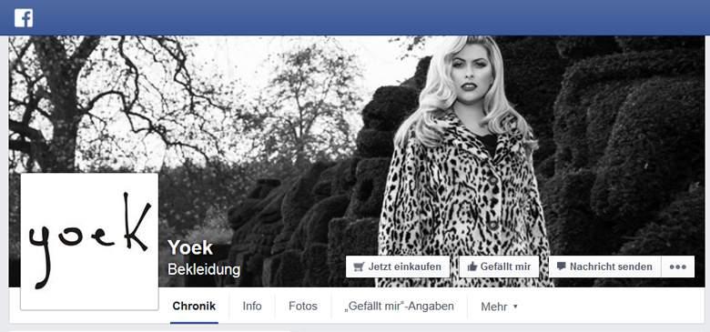 Yoek bei Facebook